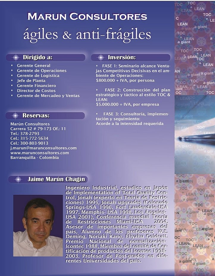 ágiles y antifrágiles (4) - Marún Consultores